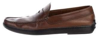 Tod's Leather Dress Loafers