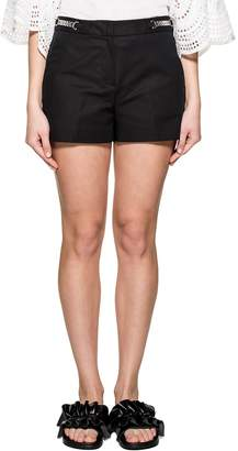 Michael Kors Black Gabardine Shorts
