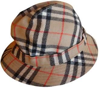 Burberry Beige Wool Hats & pull on hats