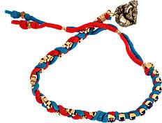 Kris Nations Blue Lapis Friendship Bracelet
