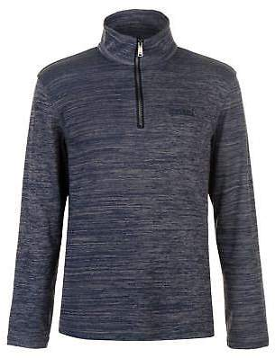 Regatta Mens Tayson Fleece Quarter Zip Top Sweatshirt Jumper
