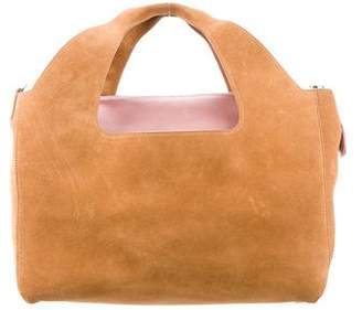 The Row Two for One 12th Suede Tote Bag