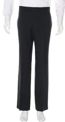 Hermes Striped Wool Dress Pants