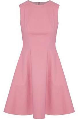 RED Valentino Flared Cotton-Blend Mini Dress