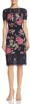 Tadashi Shoji Petites Floral Neoprene Dress