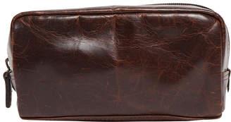 "Moore & Giles Fine Leather Mini Dopp Kit ""George"""