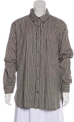 Etoile Isabel Marant Striped Dress Shirt