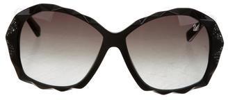 Swarovski Charlie Oversize Sunglasses $145 thestylecure.com