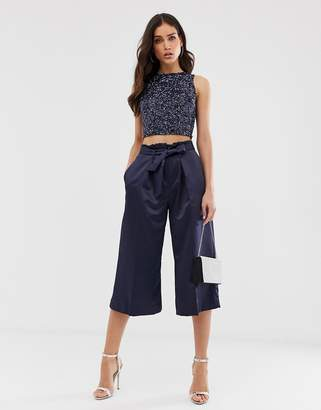 Closet London Closet pleated waist pants