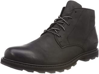 Sorel Men's Waterproof Boot, MADSON CHUKKA WATERPROOF, Black