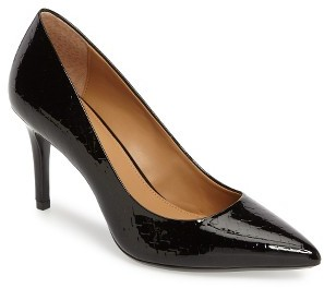 Women's Calvin Klein 'Gayle' Pointy Toe Pump $108.95 thestylecure.com