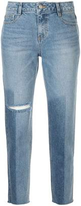 Sjyp washed straight jeans