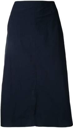 Julien David mid-length A-line skirt