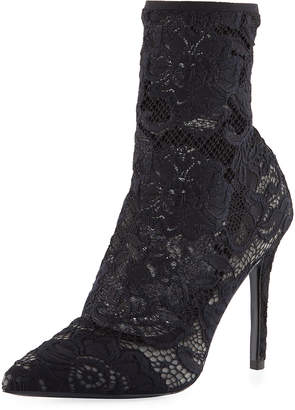 Charles by Charles David Player Floral Lace Bootie