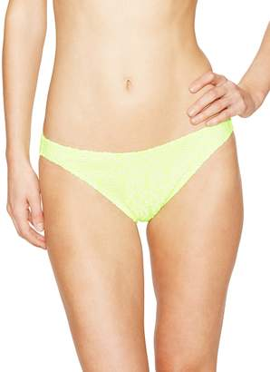 Shoshanna Women's Neon Crochet Bikini Bottom