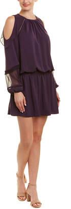 Ramy Brook Duffy Silk-Trim Shift Dress