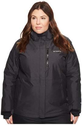 Columbia Plus Size Alpine Actiontm Omni-Heattm Jacket Women's Coat