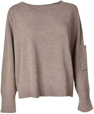 Fabiana Filippi Sleeve Pocket Sweatshirt