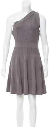 Milly Knit One-Shoulder Dress w/ Tags