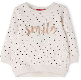 Sprout NEW Girls Crew Neck Sweat Top Oatl Marle