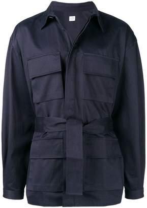 E. Tautz belted cargo jacket