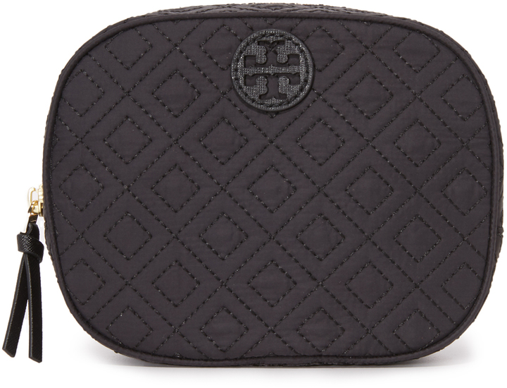Tory Burch Tory Burch Ella Quilted Cosmetic Case