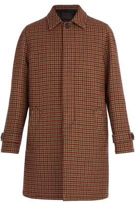 Prada - Checked Virgin Wool Coat - Mens - Multi