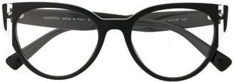 Valentino Eyewear cat-eye shaped glasses