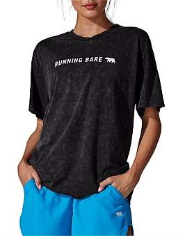 """Running Bare Two Tribes"""" 90'S Relax Tee"""