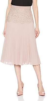 95a18961d Jacques Vert Women's Lace Detail Pleat Skirt,8
