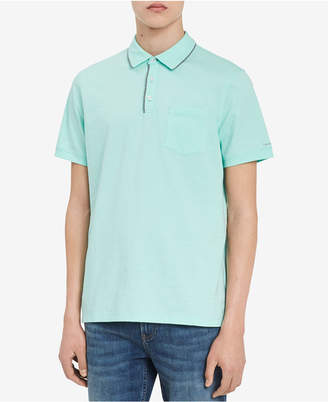 Calvin Klein Men's Contrast Trim Polo Shirt