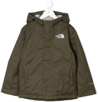 The North Face Kids branded cagoule jacket