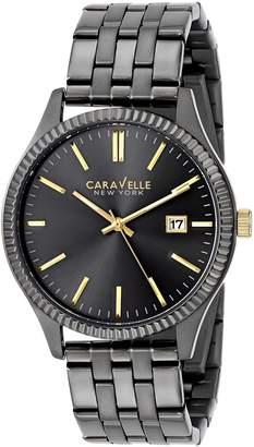 Bulova Caravelle New York Men's 45B120 Analog Display Japanese Quartz Watch