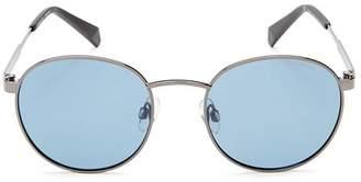 Polaroid Unisex Polarized Round Sunglasses, 51mm