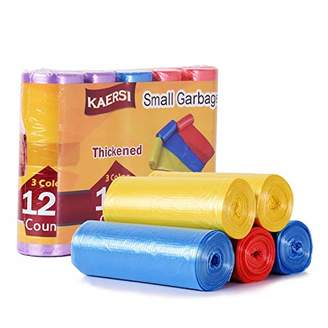 KAERSI Thicken Small Trash Bags for Office