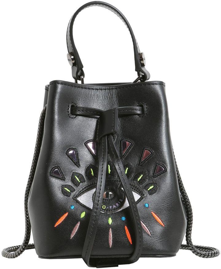 KenzoMini Eye Bucket Bag
