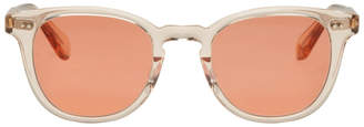 Garrett Leight Pink McKinley Sunglasses