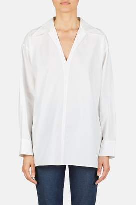 Acne Studios V-Neck Lapel Shirt - White