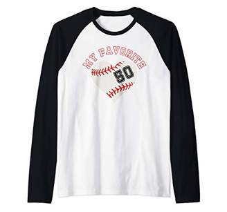 Baseball Player 50 Jersey Outfit No Sports Fan Gift Raglan Baseball Tee