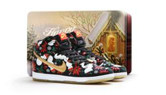 "Nike Dunk SB High Concepts ""Ugly Christmas Sweater"" - Black (Special Box)"
