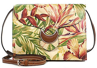 Patricia Nash Cuban Tropical Collection Van Sannio Cross-Body Bag $169 thestylecure.com