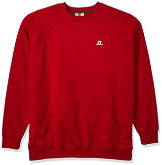 Russell Athletic Men's Big and Tall Fleece Pull Over with Pouch Pkt with Lc r