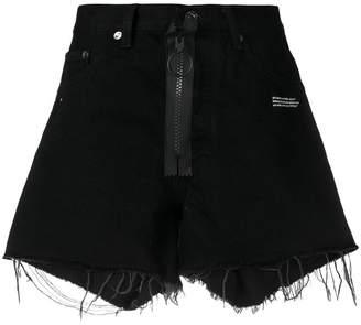 Off-White denim shorts