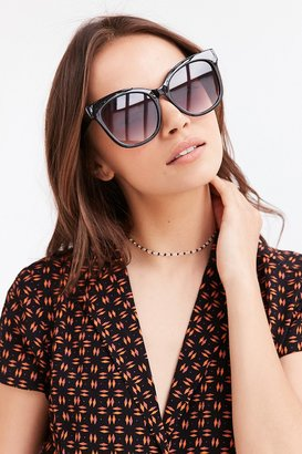 Urban Outfitters Carmen Oversized Cat-Eye Sunglasses $18 thestylecure.com