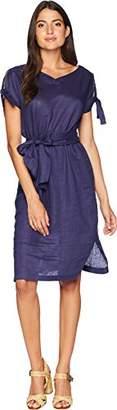 Anne Klein Women's Bow Sleeve Dress