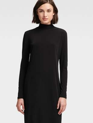 DKNY Mock Turtleneck Dress