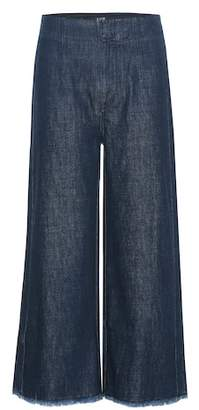 Citizens of Humanity Palazzo wide-leg denim trousers