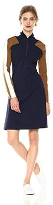 Lacoste Women's Made In France Long Sleeve Milano Polo Dress