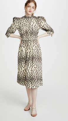Sea Leo Corded Midi Dress