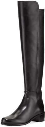 Stuart Weitzman Allserve Plonge Leather Knee Boot